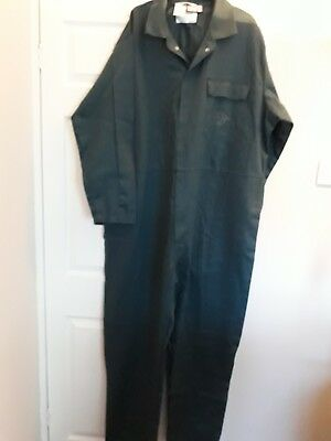 Size 140R 55  Wearwell Proban Flame Retardant  Overalls Boilersuit, In Green • 15.50£
