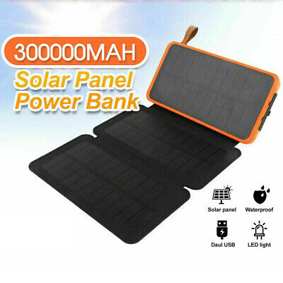 AU29.86 • Buy 300000mAh Portable External Power Bank Pack 2USB Battery Charger For Phone AU