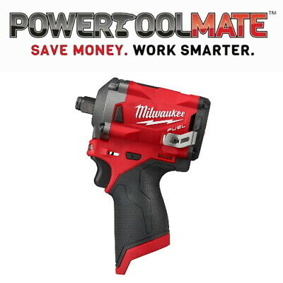 View Details Milwaukee M12FIW38-0 12V M12 Li-ion FUEL 3/8in Impact Wrench (Body Only) • 111.99£