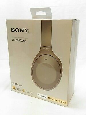$ CDN472.77 • Buy SONY WH-1000XM2 B Wireless Noise Cancelling Stereo Headphones Champagne Gold