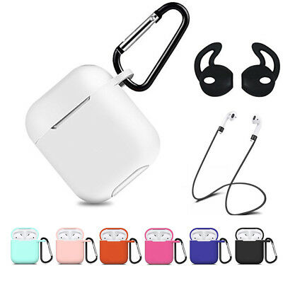$ CDN4.19 • Buy For Apple AirPods 2 1 Charging Case Silicone Cover Accessories Protective Holder