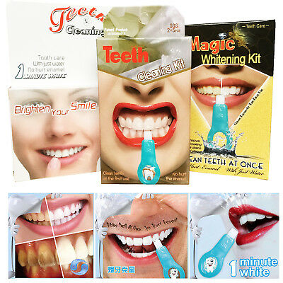 £3.99 • Buy Pro Nano Teeth Whitening Kit Teeth Cleaning Whitener Brush Tooth Stains Care HOT
