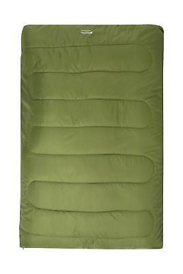 £22.99 • Buy Mountain Warehouse Basecamp 200 Double Sleeping Bag Insulated Camping Outdoor
