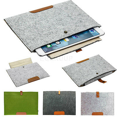 AU6.14 • Buy Premium Wool Felt Case Cover Soft Bag Sleeve Pouch For 7  7.9  9.7  Inch Tablet