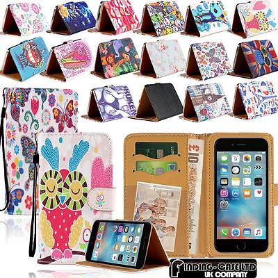 £1.49 • Buy For Apple IPhone 3456 SE / Itouch 3456 Flip Wallet Card Stand Leather Case Cover