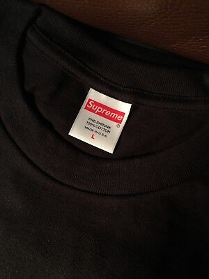 $ CDN50.49 • Buy Supreme KMart T-Shirt Blank Black K Mart Short Sleeves Size L Large BOX LOGO