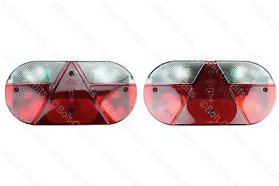 Pair Of Pennine Conway Countryman Rear Light/lamps Folding Trailer Tent Caravan • 127.99£