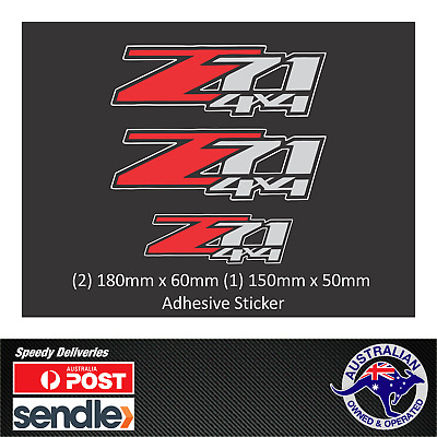 AU29.66 • Buy Colorado Z71 Holden 4x4 Decal Sticker Set