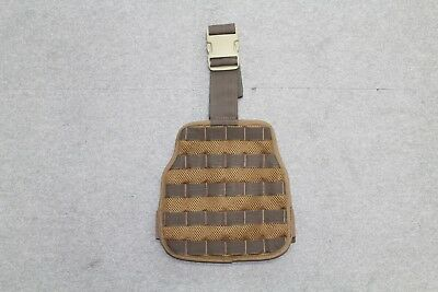 Dutch Sf Army Molle Drop Leg Panel Coyote Tan, Brand New, Airsoft, Milsim, Opfor • 13.99£
