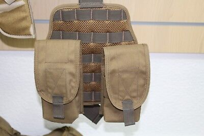 Dutch Sf Molle Drop Leg Panel With 2x M4 Mag Pouches, Brand New, Airsoft, Milsim • 22.99£