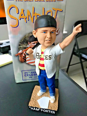 $ CDN76.06 • Buy Ham Porter Sandlot Great Hambino Salt Lake Bees Bobblehead Promo SGA New In Box