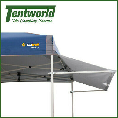AU59.90 • Buy Oztrail Gazebo Awning Removable Shade Wall Kit 3.0 - White