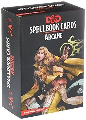 AU34.12 • Buy 73915 Dd Spellbook Cards Arcane Deck Spell Name And Important Info Easy