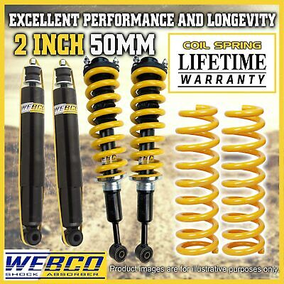AU679.25 • Buy 2 Inch Pre Assembled Lift Kit King Springs For Mitsubishi Pajero NM MP NS NT NW