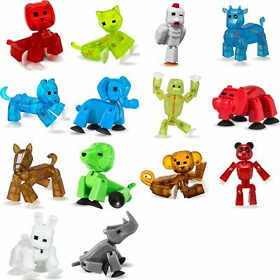 £5.99 • Buy Single Original Boxed Stikbot Pets Animation Figures Animal - Colours May Vary