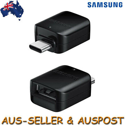 AU9.95 • Buy Genuine Samsung OTG USB To USB Type C Female Converter Adapter For S8 S9 Plus