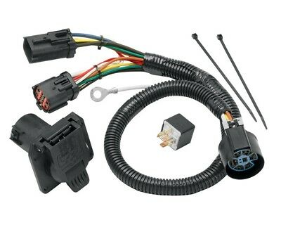 $ CDN85.02 • Buy 7-Way RV Trailer Wiring Harness Kit For 2004 Ford F-150 W/Factory 4-Flat NEW