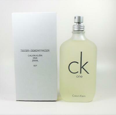 41bf0b982d CK One By Calvin Klein EDT Unisex 6.8 Oz - 200 Ml *NEW IN TST