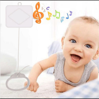 Pull String Cord Music Box Baby Crib Bed Bell Kids Toy Sleeping Soft Music Gifts • 3.38£