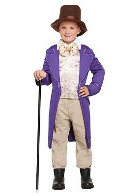 £9.95 • Buy Chocolate Factory Boy Charlie Child Fancy Dress Dressing Up Outfit Costume NEW