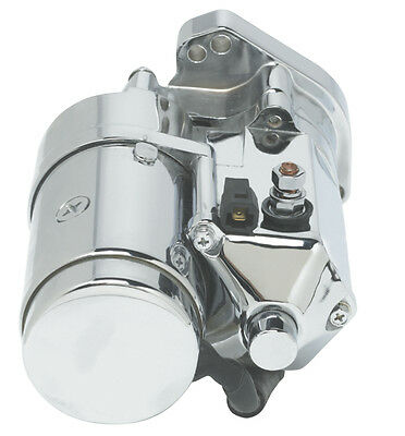 $195.99 • Buy Ultima Chrome 2.0kw Top Post Heavy Duty Starter For 1989-2006 Harley Big Twin