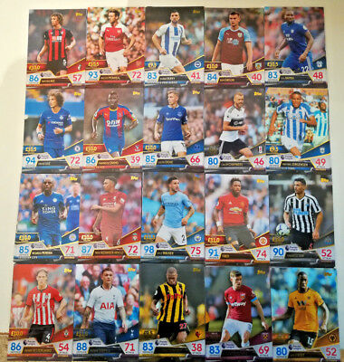 £1.25 • Buy MATCH ATTAX ULTIMATE 2018/19 18/19 TEAM CARDS Base 1 To 100