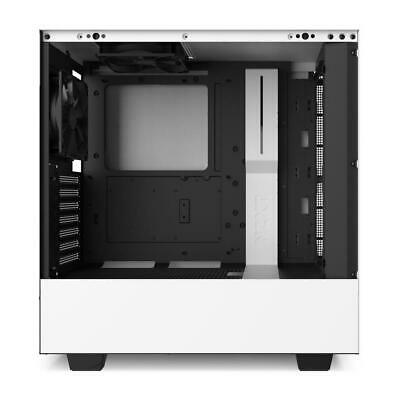 AU159 • Buy NZXT H510 ATX White Gaming Tempered Glass Case Matte Mid Tower Window Desktop PC