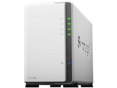 AU279 • Buy Synology DiskStation DS218j 2 Bay NAS Dual Core CPU 512MB RAM - Diskless