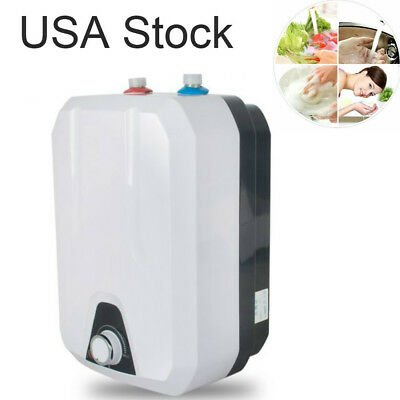 $72 • Buy Electric Tank Hot Water Heater Kitchen Bathroom Home 1500W 8L 110V USA STOCK