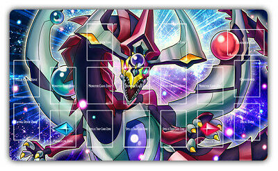 AU34.20 • Buy F2250+ Free Mat Bag Yugioh Playmat Odd-Eyes Pendulum Dragon With Card Zones