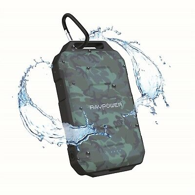 AU72.09 • Buy RavPower Outdoor Power Bank 10050mAh Waterproof Dustproof Camo Portable Charger