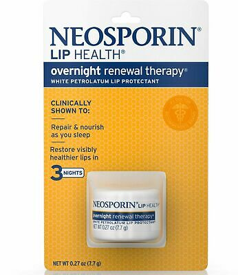Neosporin Lip Health Overnight Renewal Therapy Lip Protectant 0.27 Oz (2-Pack) • 9.88£