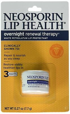 Neosporin Lip Health Overnight Renewal Therapy 0.27 Oz(Pack Of 5) • 19.83£