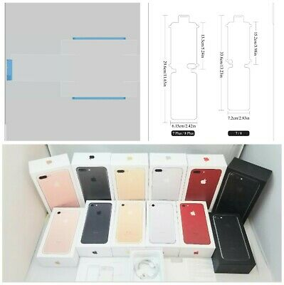 AU23.36 • Buy IPhone 7 7 Plus Empty Retail Box Option Of Accessories+ Screen Seal & Box Seal