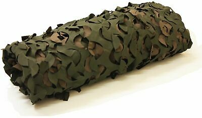 7 X 3.6ft Woodland Camouflage Shooting Stealth Pigeon/Bird Hunting Hide Netting • 6.99£