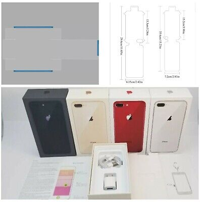 AU19.85 • Buy IPhone 8 8 Plus Empty Retail Box & Accessories Option Of Box Seal+Screen Seal