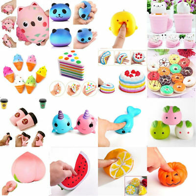 AU1 • Buy Cute Squishy Squeeze Realistic Slow Rising Charms  Stress Relief Fun Toy For Kid