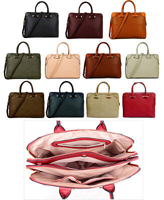 Ladies Laptop Bag Briefcase Womens Work Bag 15.6 Large Designer Office Handbag • 23.94£