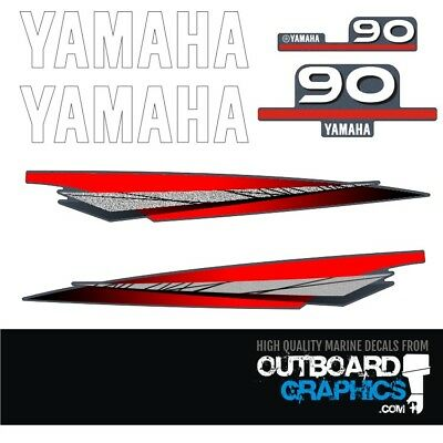 AU65.51 • Buy Yamaha 90hp 2 Stroke Outboard Decals/sticker Kit
