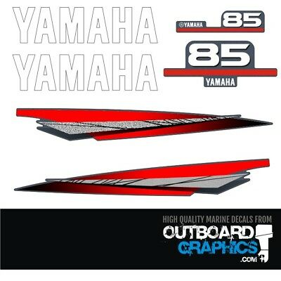 AU65.51 • Buy Yamaha 85hp 2 Stroke Outboard Decals/sticker Kit