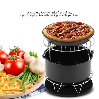 AU34.01 • Buy 7'' Air Fryer 5 /7 Piece Accessories Healthy Airfryer Set Cake Pizza For Philips