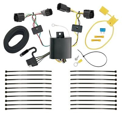 £45.91 • Buy Trailer Wiring Harness Kit For 12-16 Ford Ranger All Styles Plug & Play T-One