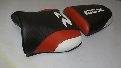 $87 • Buy Suzuki Gsxr600/750/1000r Front And Rear Seat Covers 00/01/02/03 Black/red/white