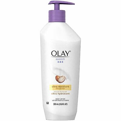 AU16.09 • Buy OLAY Quench Body Lotion Ultra Moisture Shea Butter |11.80 Oz |