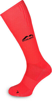 More Mile California Compression Socks Pink Sports Performance Recovery Sock • 4.95£