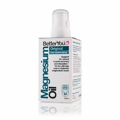 Better You Magnesium Oil Pure Mineral Spray 100ml • 11.86£
