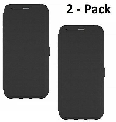 $ CDN8.81 • Buy Tech21 Evo Wallet Cover Case For Samsung Galaxy S8+ PLUS Black - 2 Pack