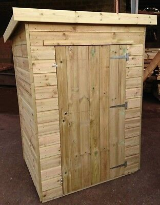 Garden Storage Shed Pinelap Wooden Pent Tool Shed Tongue And Groove Anti-Rot    • 420£