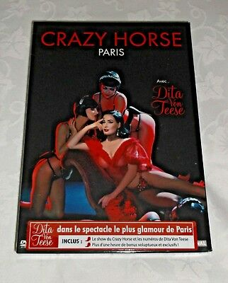 Dita Von Teese Live Burlesque Show At The Crazy Horse Paris Dvd New & Sealed • 10£