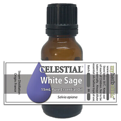 AU13 • Buy White Sage Therapeutic Grade Essential Oil ~ Clearing Smudging Banishing Purify